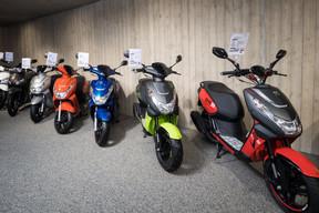 Les scooters Peugeot sont commercialisés depuis 1958 par le groupe Kontz. ((Photo: Nader Ghavami))