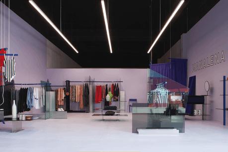 Le pop-up store de Manalena est conçu par Noman Studio. (Photo: Noman Studio)
