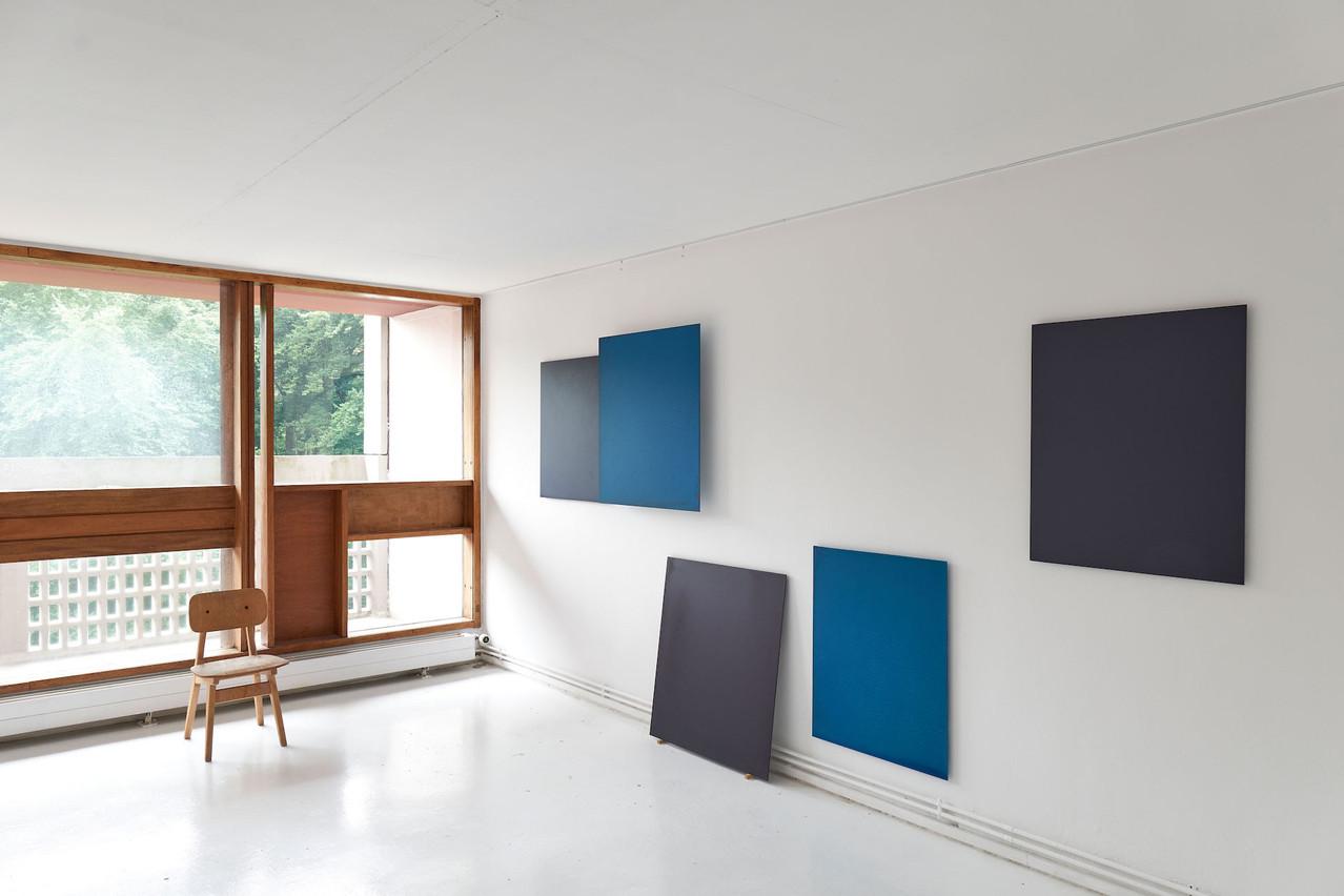 Vue de l'exposition «The Belgian Connection» à la Cité Radieuse à Briey. (Photo: DavidAngeletti-LCGDP)