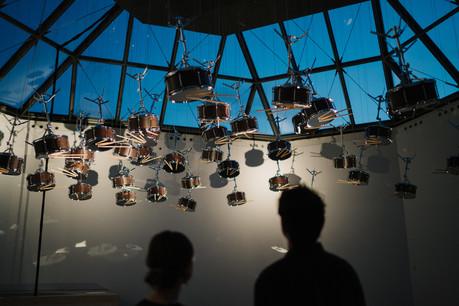 Vue de l'exposition Anri Sala. Le Temps coudé, 11.10.2019 - 05.01.2020, Mudam Luxembourg © Photo : Marion Dessard|Mudam Luxembourg