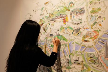 Même si l'artiste Keong-A Song vit au Luxembourg depuis près de dix ans, elle affirme que Séoul est un «souvenir [qui] est toujours vivant et qui bouge sans cesse». (Photo: DR)