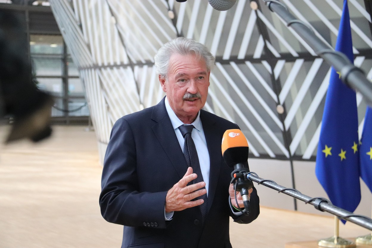 Jean Asselborn pictured at a European council meeting in July Photo: MAEE
