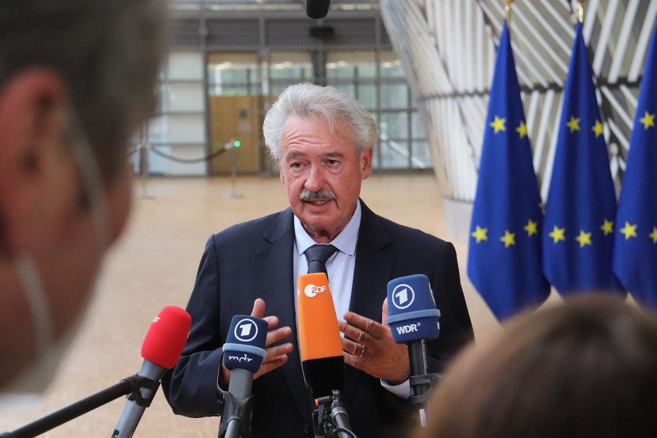 Luxembourg's foreign minister, Jean Asselborn, was his usual forthright self at a meeting of home affairs ministers in Brussels on Tuesday. MAEE