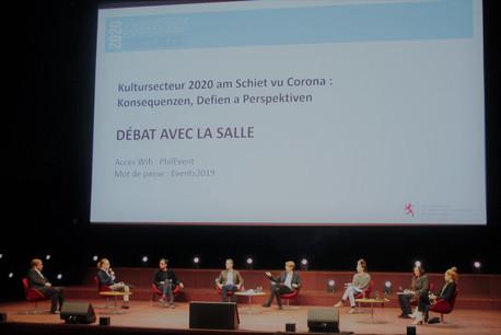 À l'occasion des troisièmes assises culturelles, de nombreux acteurs de la culture ont pu s'exprimer. (Photo: SIP)