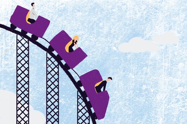 À l'avenir, les assureurs ne pourront plus garantir la protection du capital d'une assurance-vie à 100%… (Illustration: Ellen Withersova)