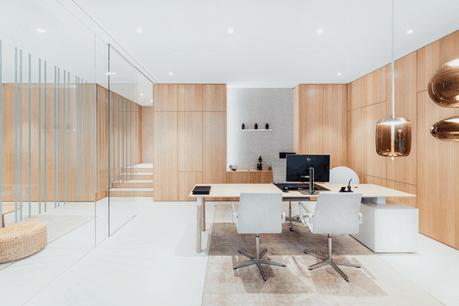 L'agence Foyer de Stevenson Della Siega a confié la conception de son espace de travail àSeventyeight. (Photo: Vincent Remy)