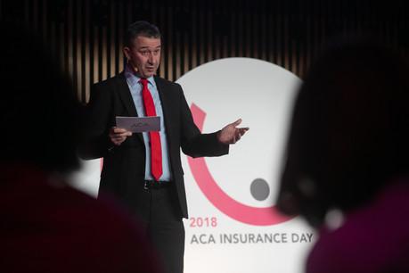 ChristianStrasser, président de l'Aca, évoquera la situation des taux d'intérêt bas dans son discours lors de l'Aca Insurance Day2019. (Photo: Matic Zorman / Archives)