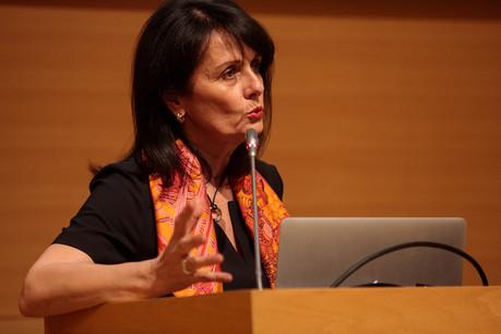 La directrice générale Patrizia Thiry a présenté des chiffres positifs pour l'ASTF. (Photo: Matic Zorman)