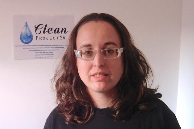 Patricia Da Silva: «Nous proposons une nouvelle société de nettoyage avec un service de qualité et qui respecte l'environnement.»                       (Photo: Clean Project 24)