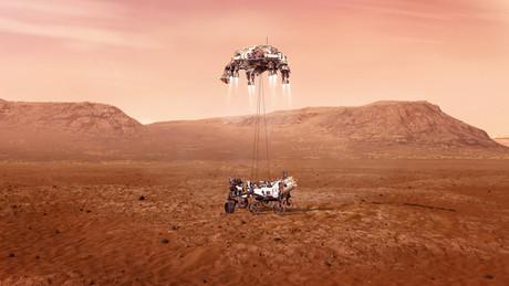 Le rover de la Nasa entame une mission de plusieurs années sur le sol martien. (Photo: Nasa)