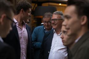 Au centre, Alex Bodry et Nicolas Schmit (LSAP) ((Photo: Matic Zorman))