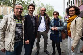 Au centre, Claude Turmes (ministre de l'Énergie) ((Photo: Nader Ghavami))