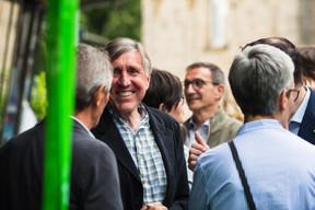 Au centre, François Bausch (ministre de la Défense) ((Photo: Nader Ghavami))
