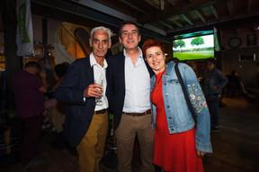 Soirée électorale au sein de Déi Gréng ((Photo: Nader Ghavami))