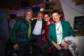 À droite, Josée Lorsché (Déi Gréng) ((Photo: Nader Ghavami))