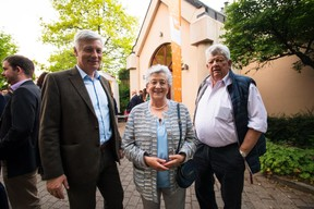 À gauche, Claude Wiseler (CSV) ((Photo: Nader Ghavami))