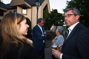 À droite, Frank Engel (président du CSV) ((Photo: Nader Ghavami))