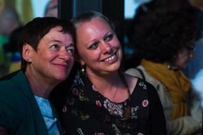 Josée Lorsché (Déi Gréng) et Carole Dieschbourg (ministre de l'Environnement) ((Photo: Nader Ghavami))
