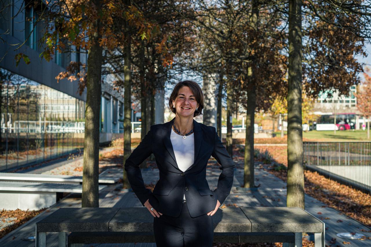 Tonika Hirdman, directrice de la Fondation de Luxembourg, fait le point sur l'évolution de la solidarité avec la crise sanitaire. (Photo: Mike Zenari/Maison Moderne)