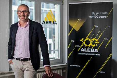 La priorité de RobertoMendolia et du syndicat ALEBA serad'apporter du support et de l'information aux délégations du personnel après la signature de cette nouvelle convention collective, en juin dernier. (Photo: Nader Ghavami/Paperjam)