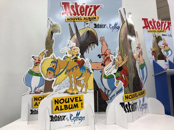 Comme c'est le cas depuis 1996, il n'y a pas de traduction en luxembourgeois prévue pour le dernier opus de la célèbre BD Astérix. (Photo: Paperjam)