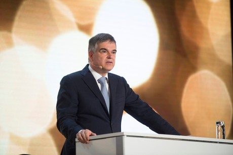 ClaudeMarx a tiré un bilan globalement positif de la résistance du secteur financier face à la crise. (Photo: AnthonyDehez/archives)