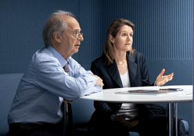 AntonBrender et FlorencePisani se montrent optimistes par rapport à la croissance mondiale. (Photo: Maison Moderne/archives)