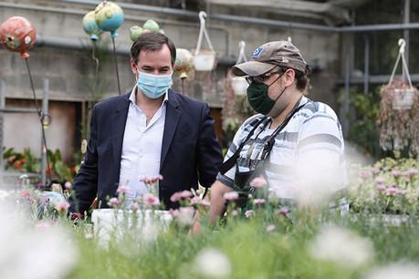 Le Grand-Duc héritier Guillaume a visité l'institution au mois de juin de cette année. (Photo: Fondation Kräizbierg)