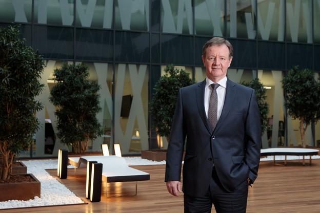 Depuis le 1er novembre, YvesBiewer est le président du comité de direction de la banque Raiffeisen. (Photo: Matic Zorman/Maison Moderne)