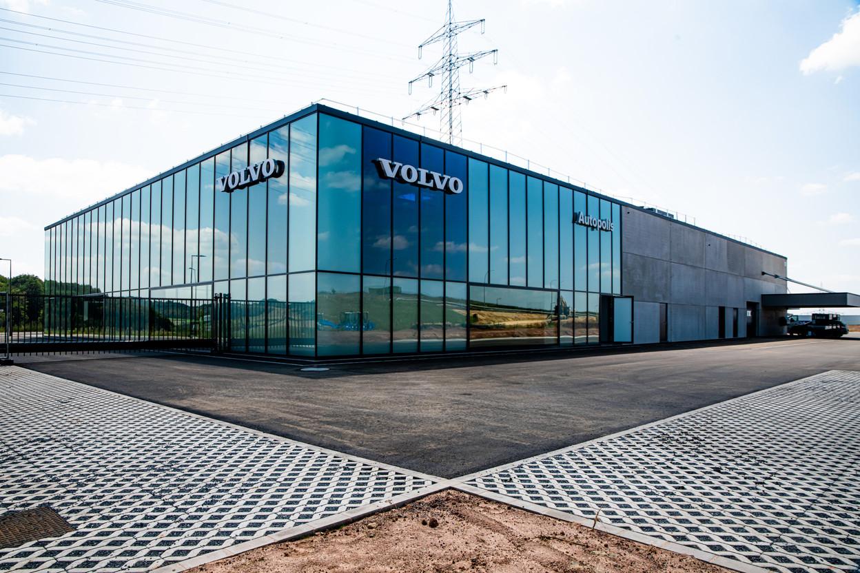 Autopolis's new dealership in Fridhaff Photo: Autopolis