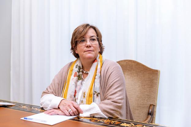 Cosita Delvaux, secrétaire de la Chambre des notaires du Grand-Duché de Luxembourg. (Photo: Romain Gamba/Maison Moderne)