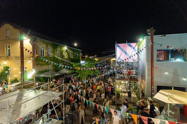 La soirée de lancement des Congés Annulés 2021 a tenu ses promesses, avec un public de près de 600 mélomanes – soit la jauge maximale – présents sur le site des Rotondes, à Bonnevoie. (Photo:Ruben Dos Santos/Rotondes)