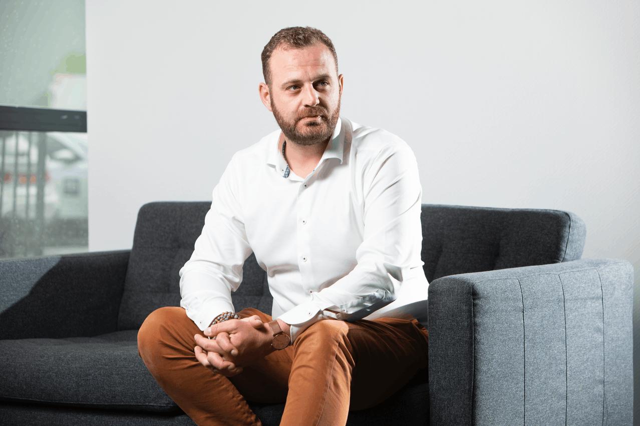 Julien Dailland, Directeur général de Samsic Facility. VERJUS SIMON, Maison Moderne Publishing SA