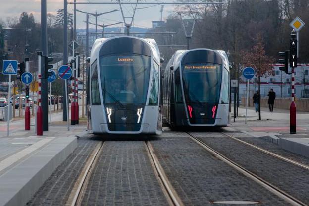 Le tram reliant Luxexpo à la place de l'Étoile sera de nouveau gratuit pour tous les usagers durant une semaine, avant la fin définitive des tickets payants à compter de mars prochain. (Photo: Matic Zorman / Archives)