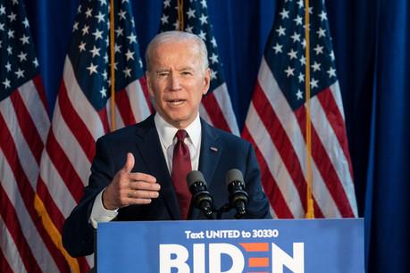 Joe Biden, candidat démocrate à l'élection présidentielle des États-Unis. (Photo: Shutterstock)