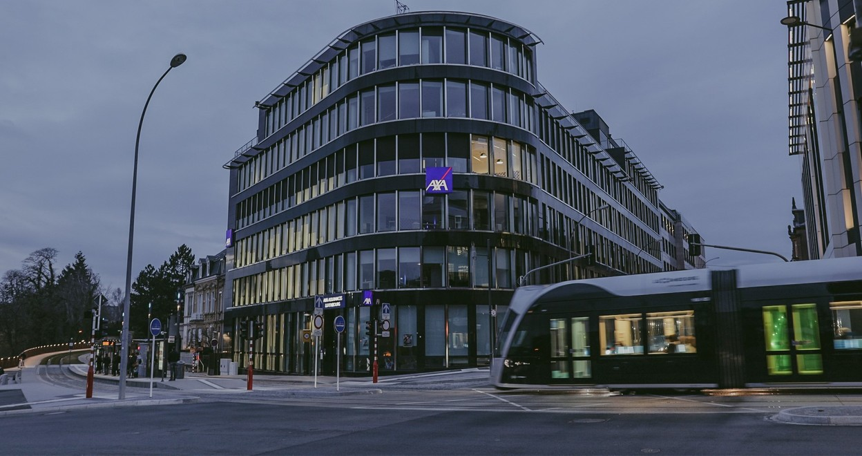 After Sofina, AXA is also offering extra days off to its employees. (Photo: AXA Luxembourg)