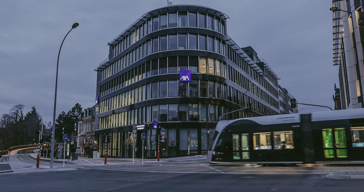 Après Sofina, AXA propose aussi des jours de congé supplémentaires à ses salariés. (Photo: AXA Luxembourg)