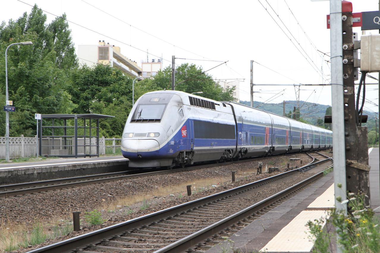 À terme, une cadence de circulation allant jusqu'à dix trains pendant les heures de pointe entre Luxembourg et Metz. (Photo: Paperjam)