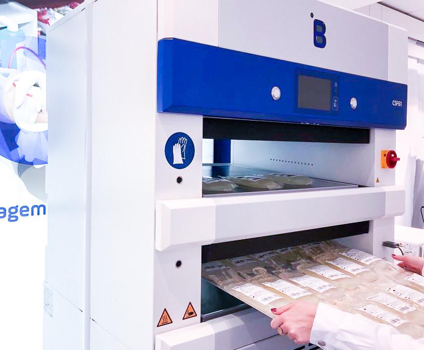 Plus le plasma est congelé vite, meilleures sont ses caractéristiques pour lutter contre le coronavirus. Avec une idée inédite: créer une banque de plasma au CHL pour les besoins futurs. (Photo: B Medical Systems)