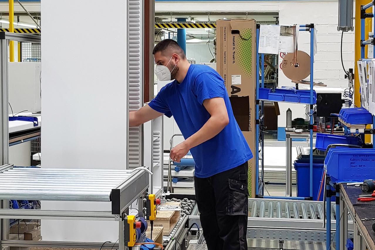 L'entreprise de Hosingen emploie 210 personnes, du Brésil à l'Asie, un mini-monde à l'échelle du Luxembourg, dit le CEO. (Photo: B Medical Systems)