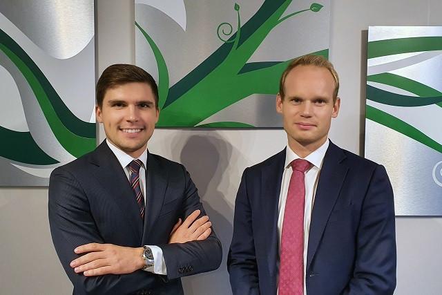 Max Malonukhin (Senior Consultant) and Thibault Thomas (Senior Manager) from Avantage Reply Luxembourg. (Photo: Avantage Reply Luxembourg)