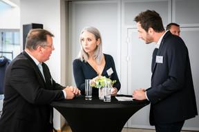 Bruno Renders (CDEC), Kathia Robert (CBRE) et Benoit Martin (COCERT) ((Photos: Vincent Remy pour CBRE))