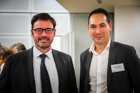 Pierre Hédouin (Arendt & Medernach) et Guillaume Capellini (CBRE) ((Photos: Vincent Remy pour CBRE))