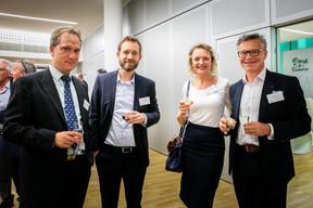 Yves Gaspard (Thomas & Piron), Thomas Marmillot (CBRE) et Vincent Klein (Everop) ((Photos: Vincent Remy pour CBRE))