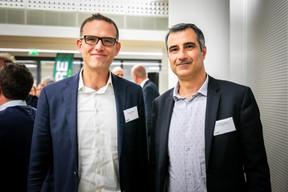 Philippe Schmitt (Somaco) et Vincent Giudicissi (HBH) ((Photos: Vincent Remy pour CBRE))