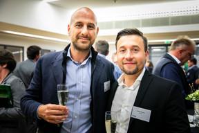 Guido Dallafior (Revest) et Pedro Pimenta (Revest) ((Photos: Vincent Remy pour CBRE))