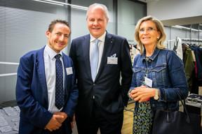 Yves Knel (Deloitte), Eric Thoelen (Besix Stay) et Virginie Mechielsen (FEDIL) ((Photos: Vincent Remy pour CBRE))