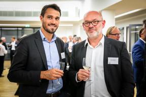 Josselin Granier (Galimmo) et Frank Rosenbaum (CBRE) ((Photos: Vincent Remy pour CBRE))