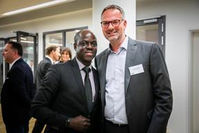 Thomas Antoine-Williams (BOS) et Jean-François Muller (Valéan Immobilier) ((Photos: Vincent Remy pour CBRE))
