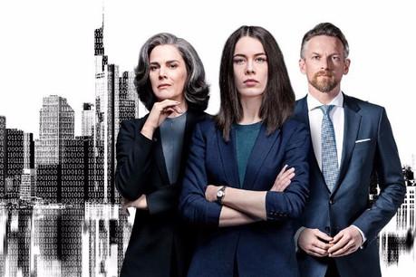 La seconde saison de «Bad Banks» a gardé ses acteurs fétiches, mais les a transposés dans un monde de la finance en mutation, à l'image de ce qu'il est aujourd'hui. (Illustration: Iris Productions)
